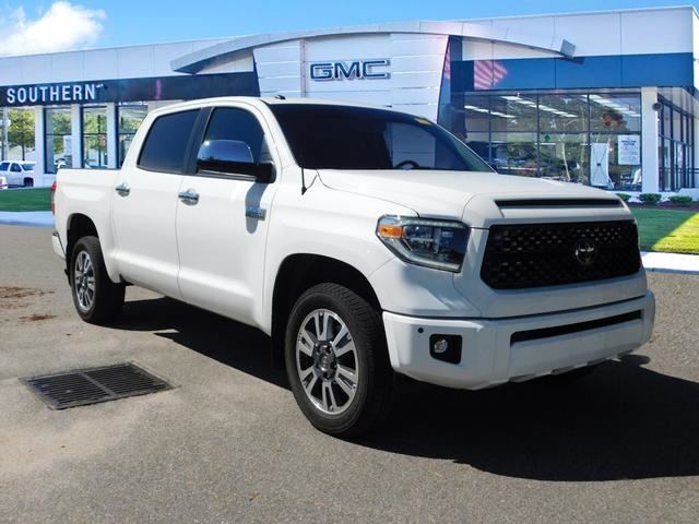 Toyota Tundra Platinum >> Pre Owned 2018 Toyota Tundra Platinum 4wd